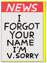 David Shrigley - I Forgot Your Name