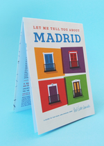 Herb Lester Maps - Let Me Tell You About Madrid