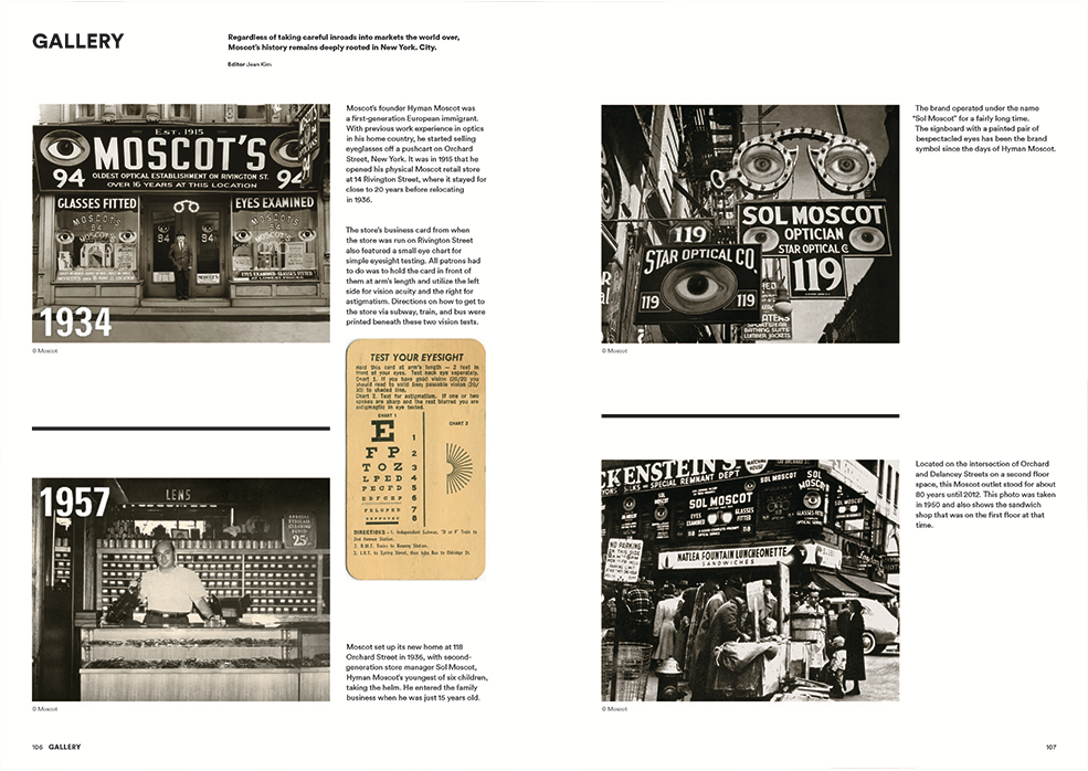 Magazine B - Moscot - Issue 64