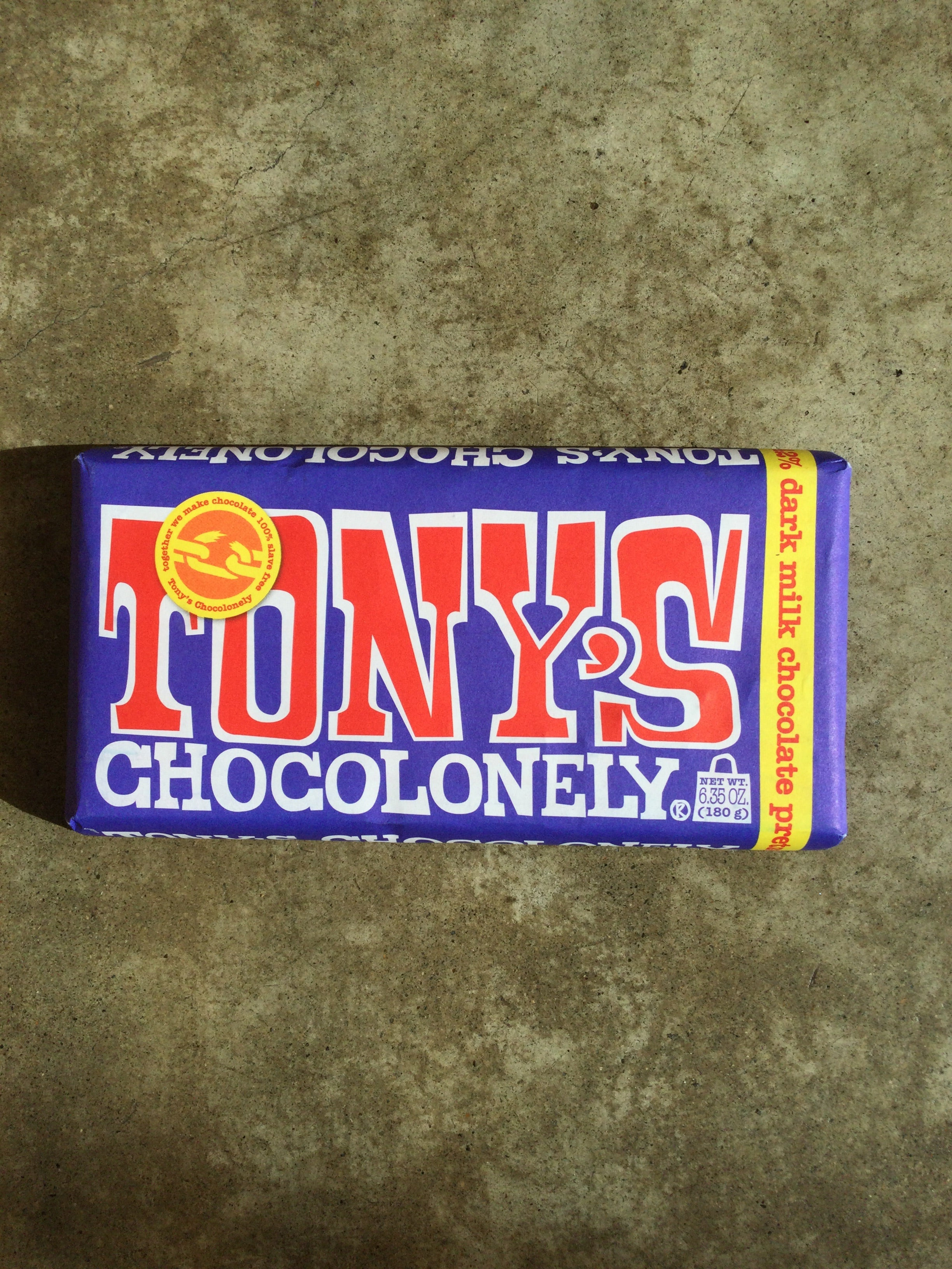 Tony's Chocolonely - 42% Dark Milk Chocolate Pretzel Toffee