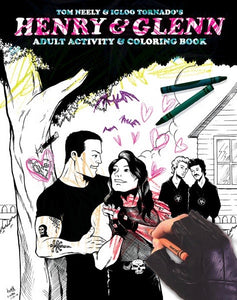 Henry & Glenn Adult Activity and Coloring Book By Tom Neely