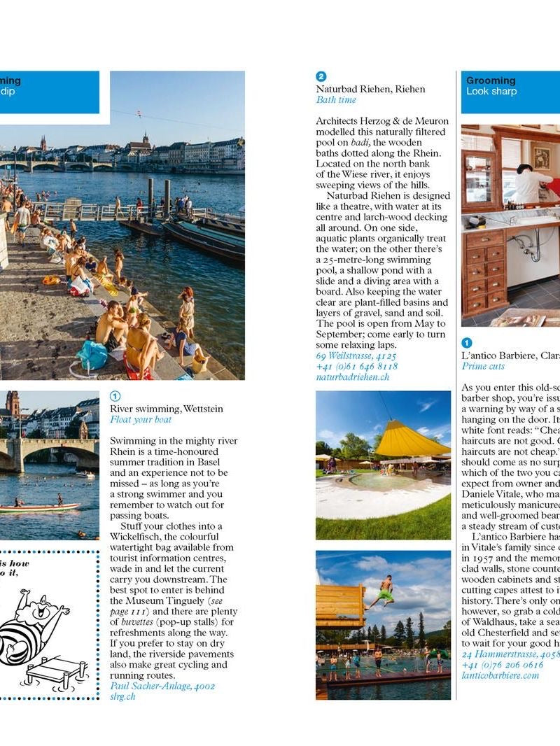 The Monocle Travel Guides - Zurich, Geneva + Basel