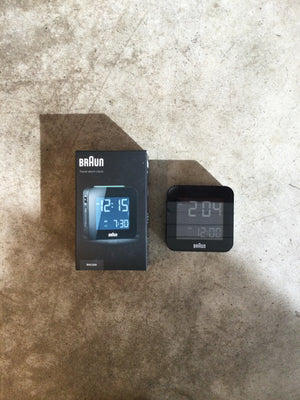Braun - Digital Alarm Clock