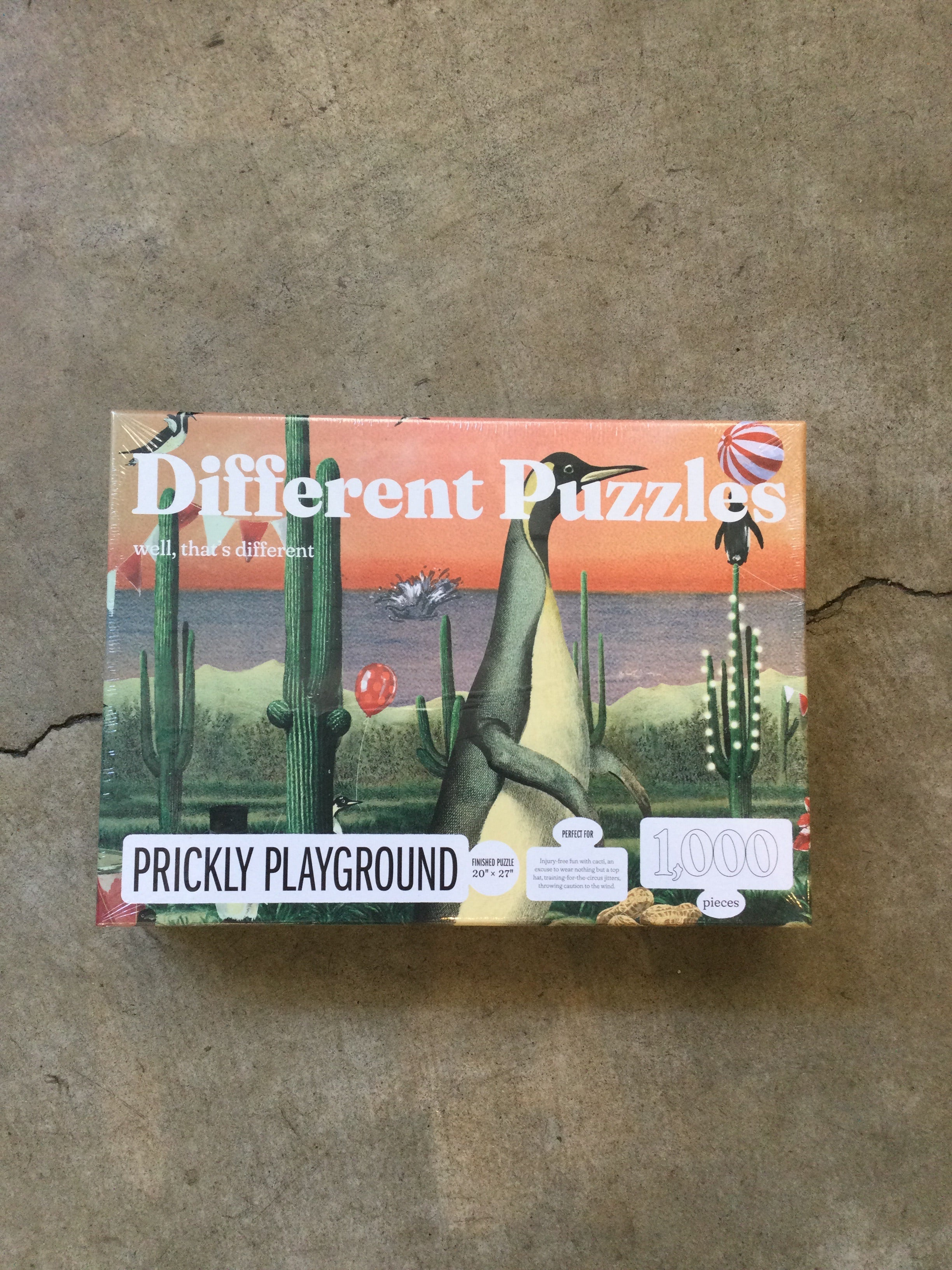 Different Puzzles - 1000 Pieces - Prickly Playground