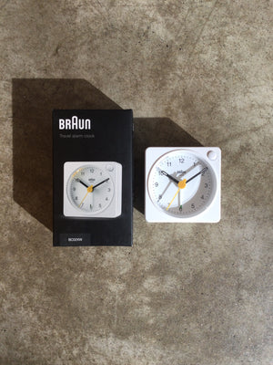 Braun - Classic Travel Alarm Clock