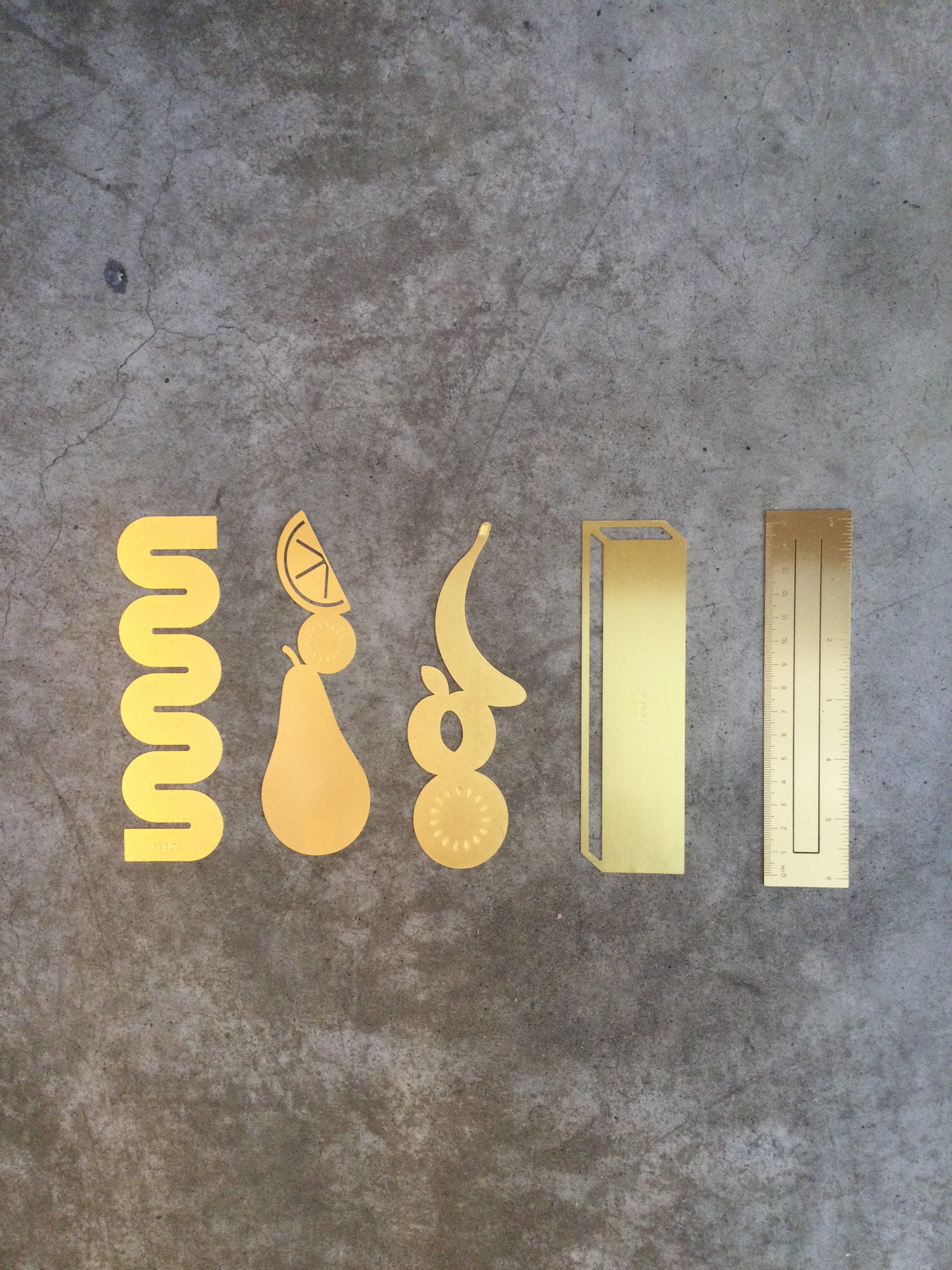 Poketo - Brass Bookmarks