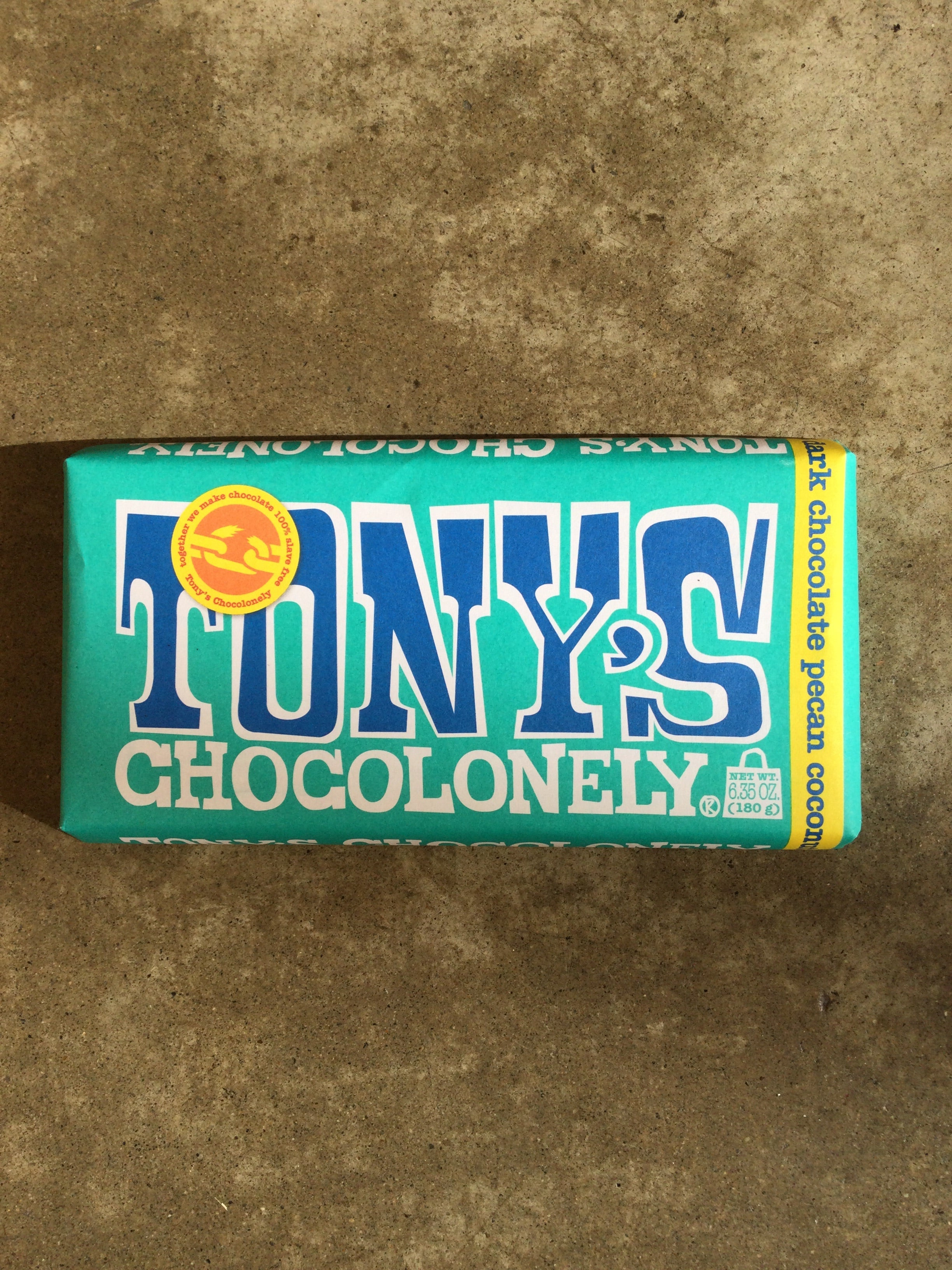 Tony's Chocolonely - 51% Dark Chocolate Pecan Coconut