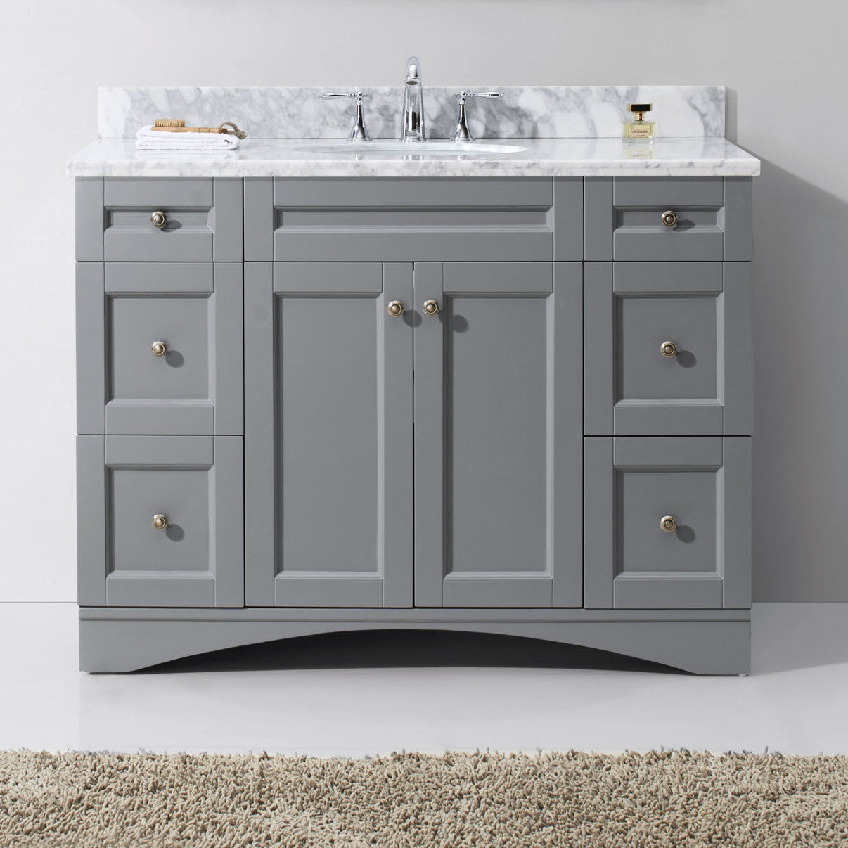 Elise 48 Single Bathroom Vanity Set With Mirror