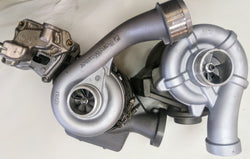 Ford powerstroke 6.4L twin turbos.