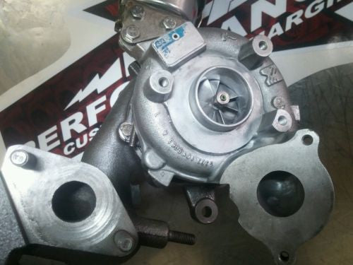 kkk BV43 big TURBO upgrade vw 2 0L audi A3 jetta golf passat