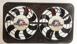 Flexalite Dual slim rad fan