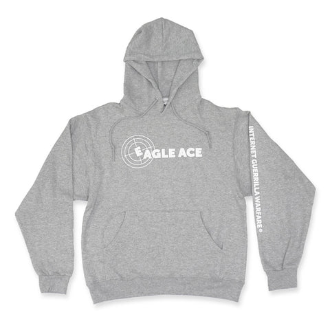 EAGLE ACE GREY PULLOVER