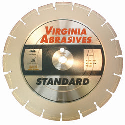 Virginia Abrasives 5-20 HP Walk-Behind Asphalt Blade