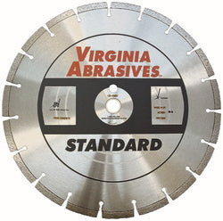 Virginia Abrasives 5-20 HP Walk-Behind Concrete Blade Standard