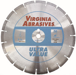 Virginia Abrasives 5-20 HP Walk-Behind Concrete Blade Ultra Value