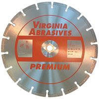 Virginia Abrasives Hard Paver and Brick Blade Premium