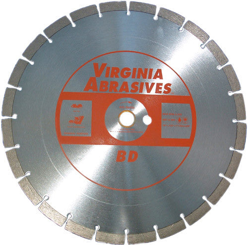 Virginia Abrasives High Speed Concrete Blade BD Concrete