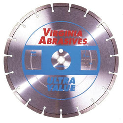 Virginia Abrasives High Speed Concrete Blade Ultra Value