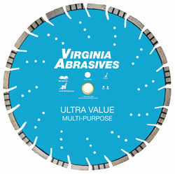 Virginia Abrasives High Speed Multi-Purpose Asphalt and Concrete Ultra Value