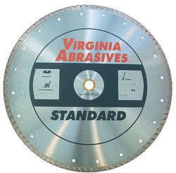 Virginia Abrasives High Speed Turbo Blade Standard Continuous Rim