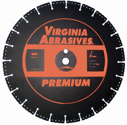 Virginia Abrasives Specialty High Speed Blade Premium Rescue/Restoration