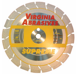 Virginia Abrasives High Speed Multi-Purpose Asphalt and Concrete Supreme