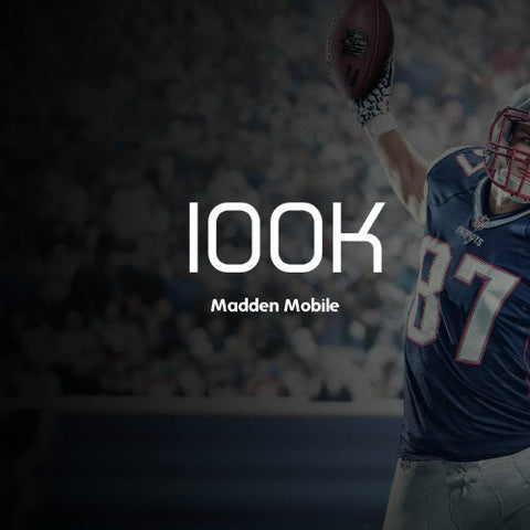 100,000 Madden Mobile Coins