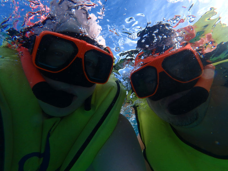 Snorkeling and Sesame Street