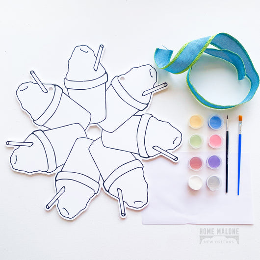 Sno-Ball Door Hanger Paint Kit
