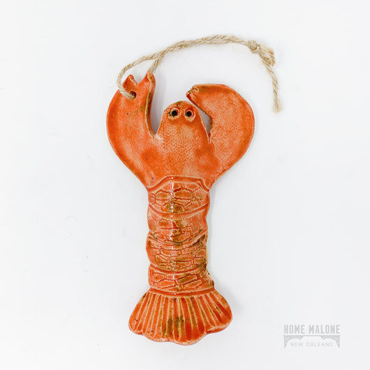 Ceramic Crawfish Ornament