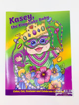 Kasey, The King Cake Baby: Paper Doll Book