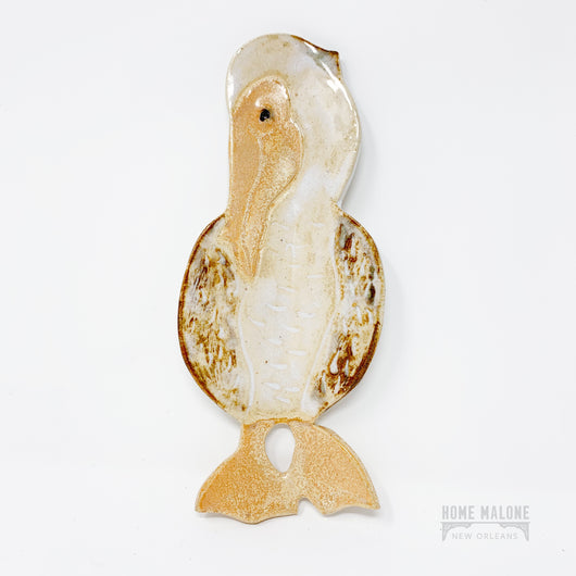 Ceramic Pelican Spoon Rest