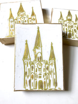 St. Louis Cathedral Art / White