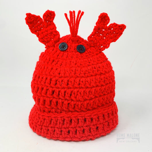 Toddler Crawfish Knit Hat