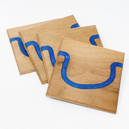 Riverbend Inlay Coasters