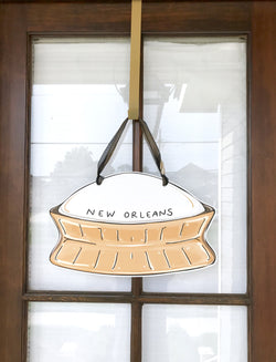 Superdome Door Hanger