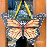 monarch butterfly door hanger home malone