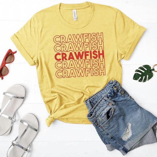 Crawfish Crawfish Crawfish T-Shirt