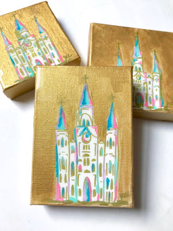 St. Louis Cathedral Art / Gold