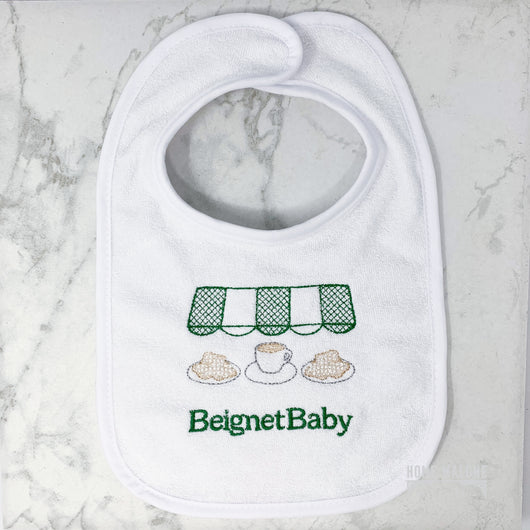Beignet Baby Bib Made In New Orleans