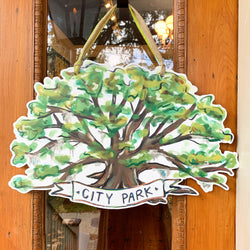 Oak Tree Door Hanger