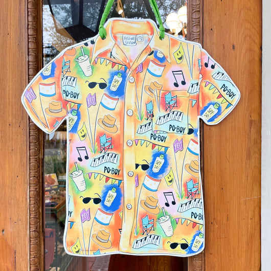 Jazz Fest Shirt Door Hanger Home Malone