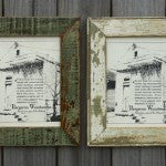Reclaimed Picture Frame - 8in x 10in