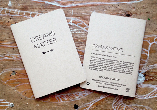 Dreams Matter Notebook