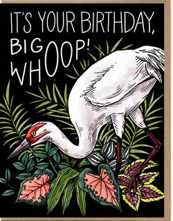 Big Whoop Birthday Card