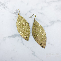 Gold Game Day Earrings from Satazi at Home Malone