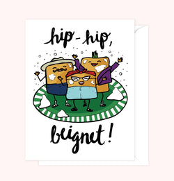 Hip Hip Beignet Card