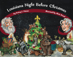 Louisiana Night Before Christmas Children's Book