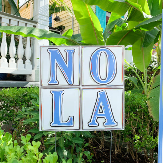 NOLA Tiles Yard Sign