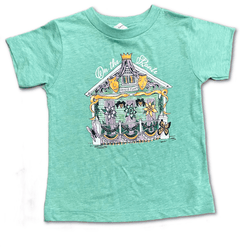 On The Route House Float Kids Shirt
